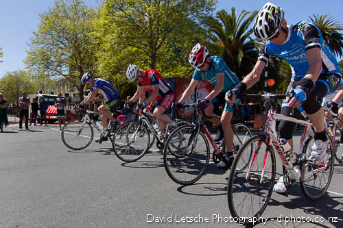D Grade clips in for the Nelson City Crit