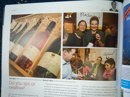 Wineart 2012 Launch photos in Wild Tomato magazine