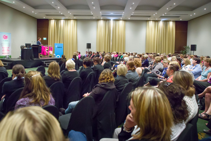 The Dairy Women's Network Conference at the Rutherford Hotel in Nelson, NZ