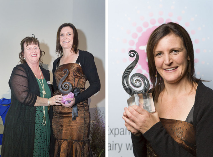 Justine Kidd, Dairy Woman of the Year 2013