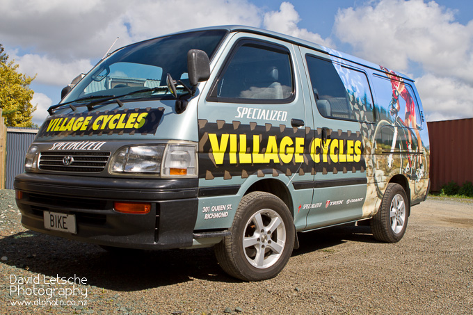 The Village Cycles Van